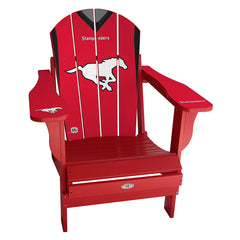 Calgary Stampeders Home Sports Chair