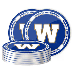 Winnipeg Blue Bombers 8pk. Coaster Set