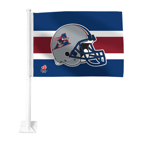 Montreal Alouettes Car Flag