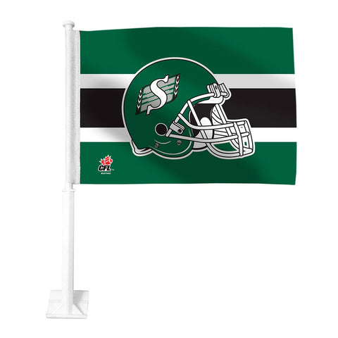 Saskatchewan Roughriders Car Flag