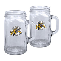 Hamilton Tiger-Cats 2pk. Mason Mug Set