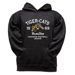 Hamilton Tiger-Cats Youth Black Hoodie - Design 08