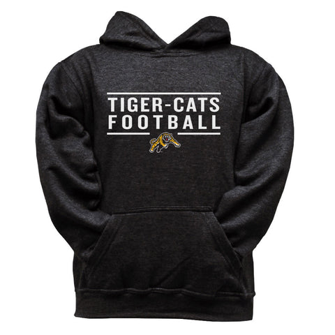 Hamilton Tiger-Cats Youth Black Hoodie - Design 24