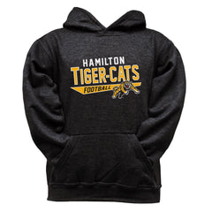 Hamilton Tiger-Cats Youth Black Hoodie - Design 25