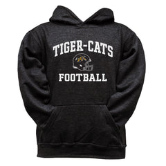 Hamilton Tiger-Cats Youth Black Hoodie - Design 27