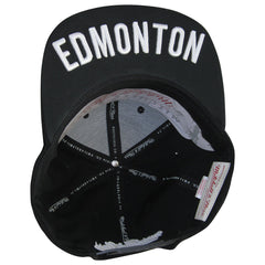 Edmonton Eskimos White Out City Mitchell & Ness Snapback