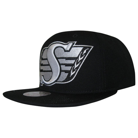 Saskatchewan Roughriders White Out City Mitchell & Ness Snapback
