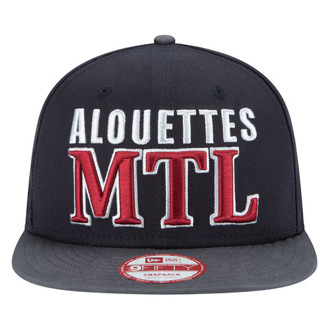 Montreal Alouettes New Era Luc B. Jordain Player Inspired Series Snapback