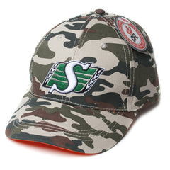 Saskatchewan Roughriders Mens Camo Cap