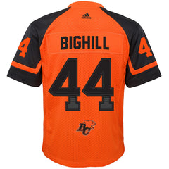 BC Lions Adam Bighill Adidas Home Jersey