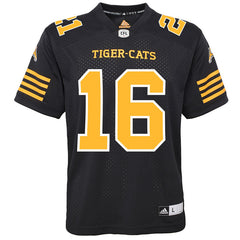 Hamilton Tiger-Cats Brandon Banks Adidas Home Jersey
