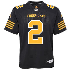 Hamilton Tiger-Cats Chad Owens Adidas Home Jersey