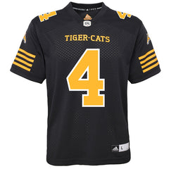 Hamilton Tiger-Cats Zach Collaros Adidas Home Jersey