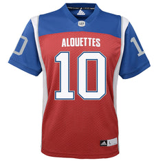 Montreal Alouettes Marc-Olivier Brouillette Adidas Home Jersey