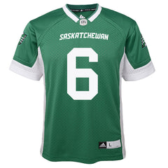 Saskatchewan Roughriders Rob Bagg Adidas Home Jersey
