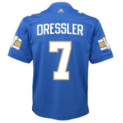 Winnipeg Blue Bombers Weston Dressler Adidas Home Jersey