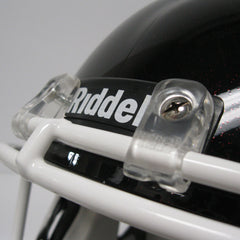 Calgary Stampeders Black Riddell Speed Replica Helmet