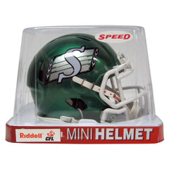 Saskatchewan Roughriders Riddell Speed Mini Helmet