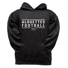 Montreal Alouettes Youth Black Hoodie - Design 24