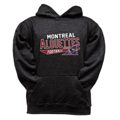Montreal Alouettes Youth Black Hoodie - Design 25