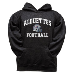 Montreal Alouettes Youth Black Hoodie - Design 27