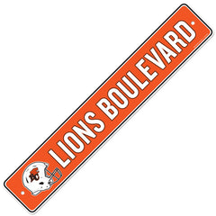 BC Lions  4x23 Street Sign