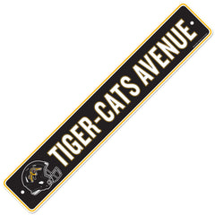 Hamilton Tiger-Cats  4x23 Street Sign