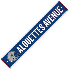 Montreal Alouettes  4x23 Street Sign