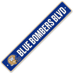 Winnipeg Blue Bombers  4x23 Street Sign