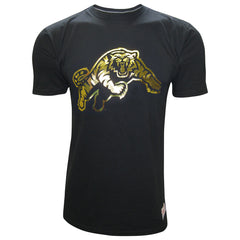 Hamilton Tiger-Cats Men's Foil Logo Mitchell & Ness Tee