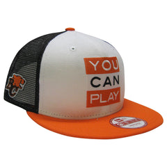 BC Lions YOU CAN PLAY New Era 950 Limited Edition Snapback