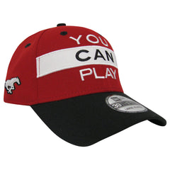 Calgary Stampeders YOU CAN PLAY New Era 3930 Limited Edition Flex Cap