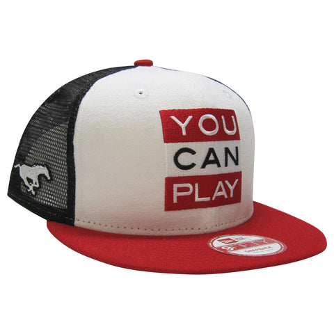 Calgary Stampeders YOU CAN PLAY New Era 950 Limited Edition Snapback