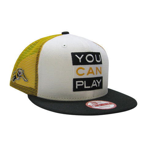 Hamilton Tiger-Cats YOU CAN PLAY New Era 950 Limited Edition Snapback