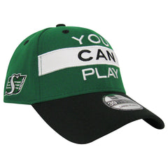 Saskatchewan Roughriders YOU CAN PLAY New Era 3930 Limited Edition Flex Cap