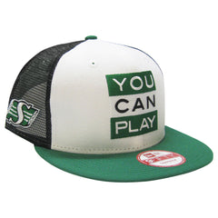 Saskatchewan Roughriders YOU CAN PLAY New Era 950 Limited Edition Snapback