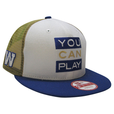 Winnipeg Blue Bombers YOU CAN PLAY New Era 950 Limited Edition Snapback