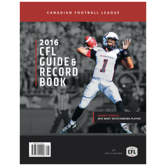 2016 CFL Guide & Record Book