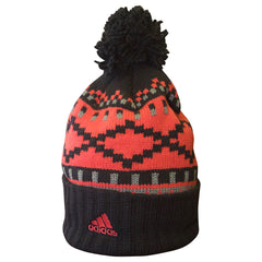 GREY CUP 104 CUFFED KNIT POM