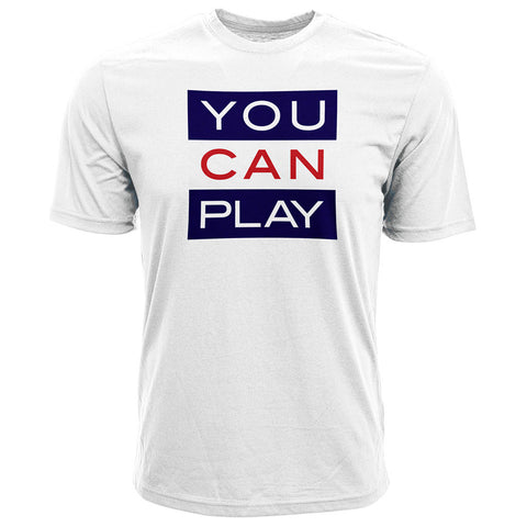 CFL YOU CAN PLAY Limited Edition Men's Tee - White