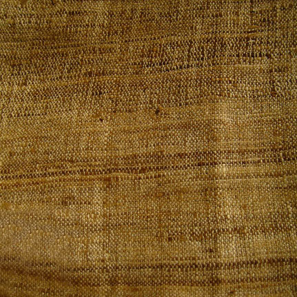 Raw silk swatch