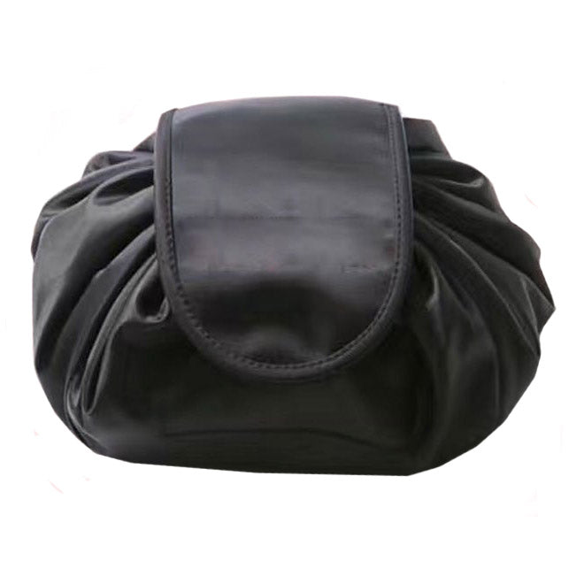 Women's pretty satin drawstring makeup-cosmetic bags
