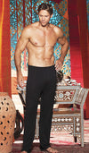 Men's Black Soft Knit Lounge Pants by Gyz