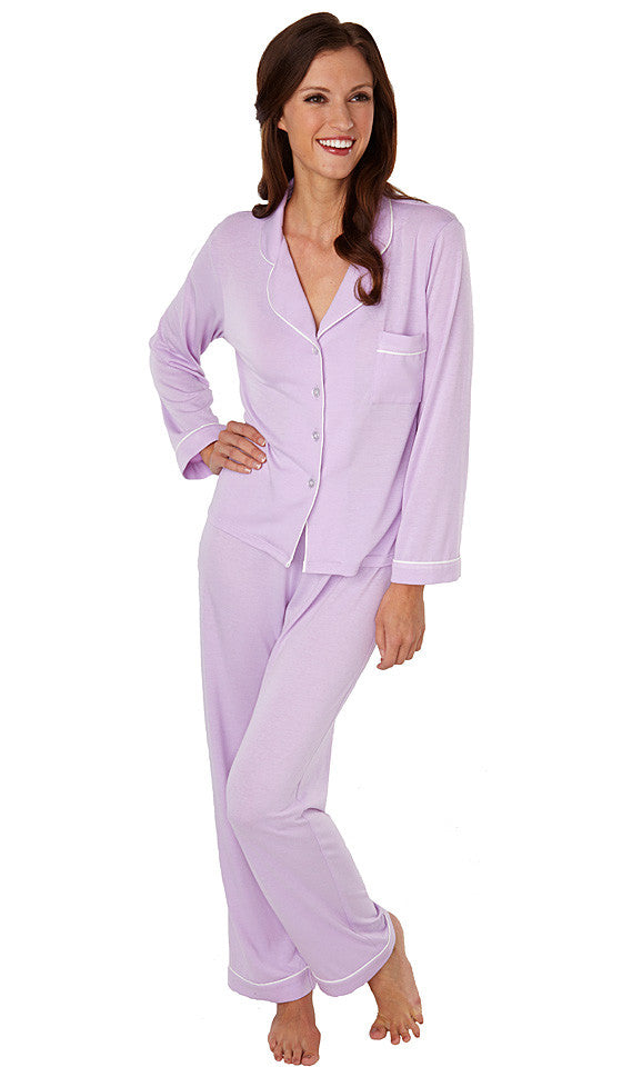"Women's Pajamas - Orchid ""Softies"" Meghan Classic Style by Paddie Murphy"