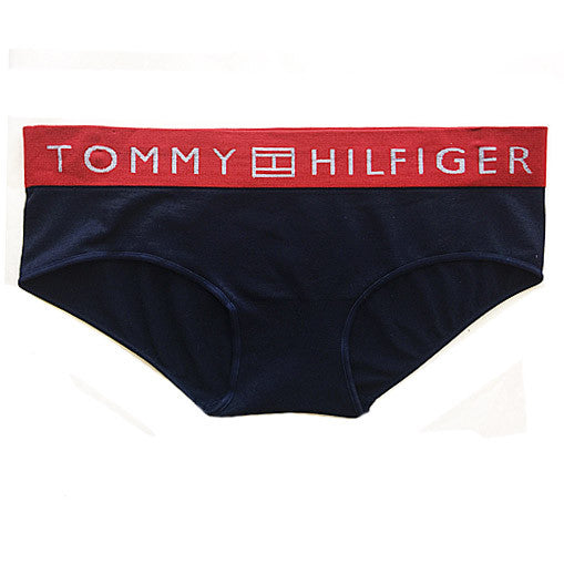 3aa5986020d5 ... Women's Panty - Navy/Red Tommy Hilfiger Cotton Hipster Bikini ...