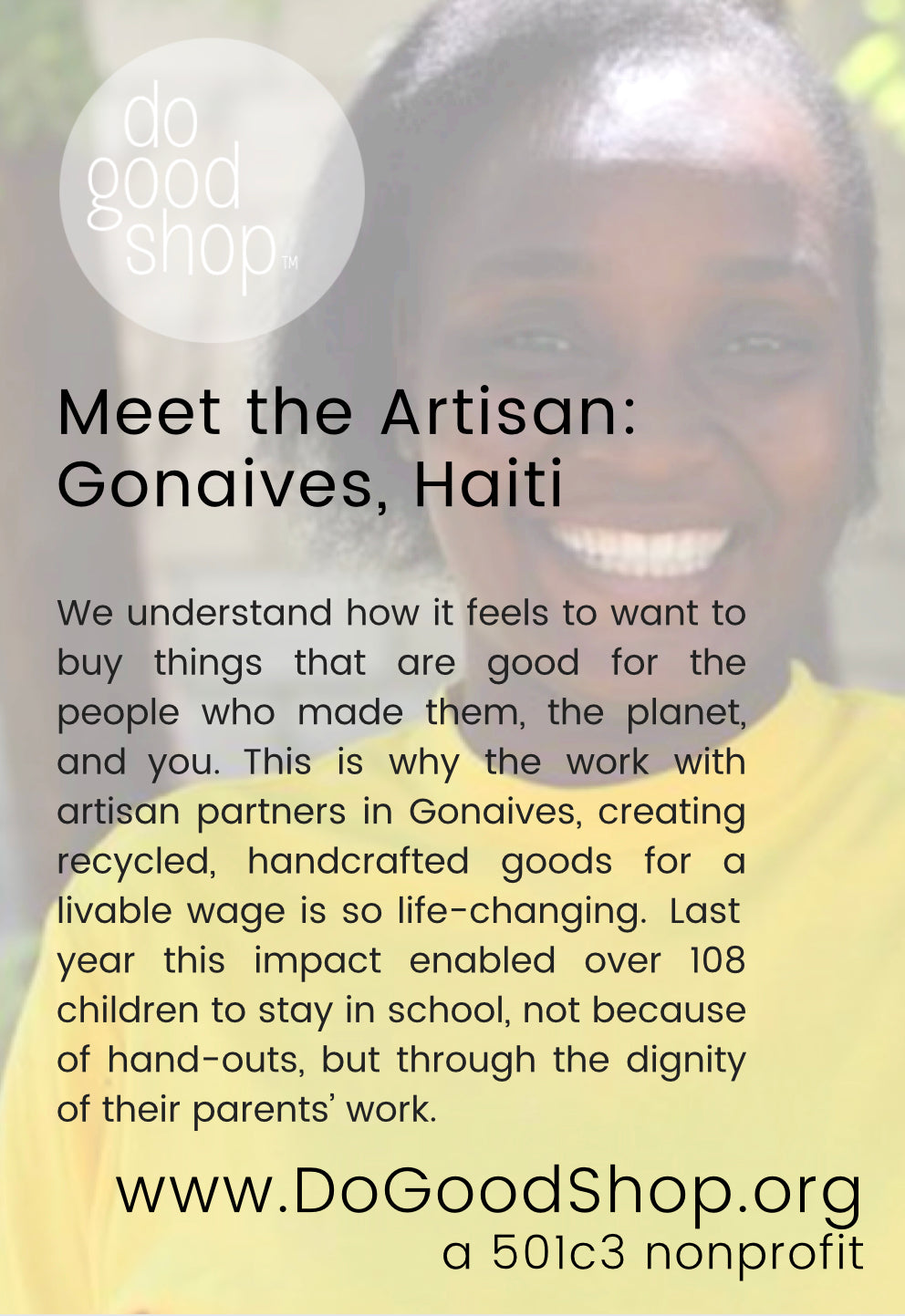 meet the artisan haiti fair trade ethically made for do good shop ethical holiday gifts