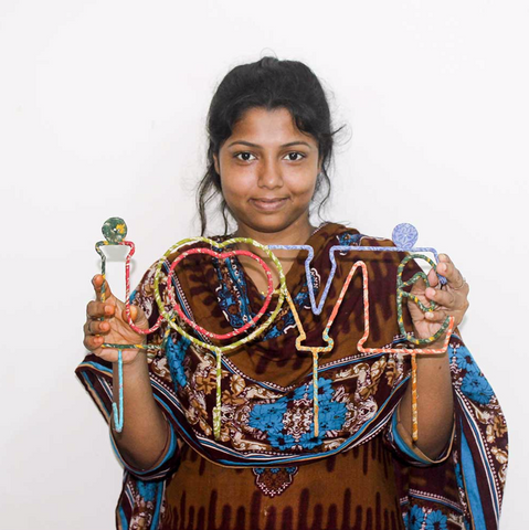 empowered woman fair trade artisan ethical handmade gifts for do good shop from bangladesh