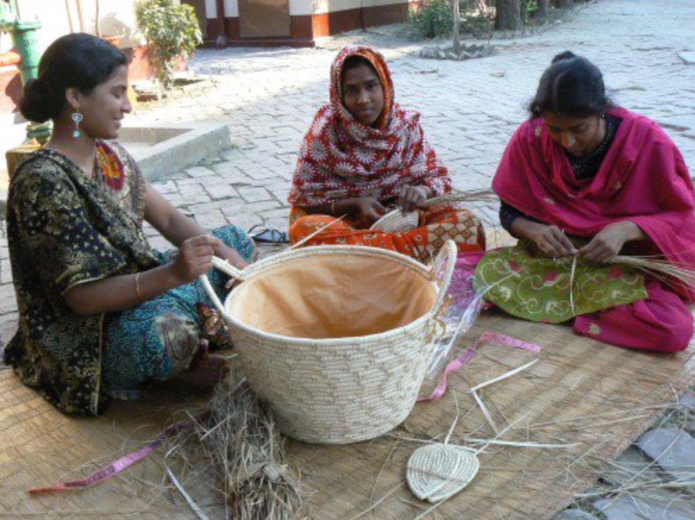 women's artisan fair trade cooperative  handmade at rishilpi in bangeladesh for do good shop