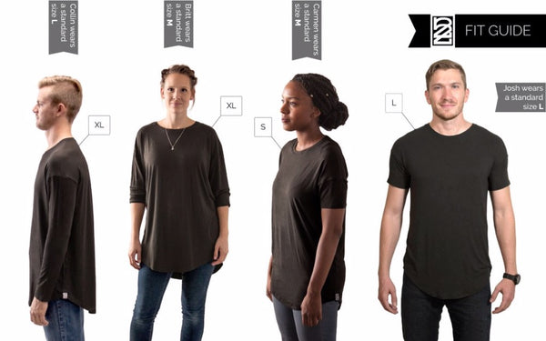Super Soft Bamboo Tee - do good shop ethical gifts