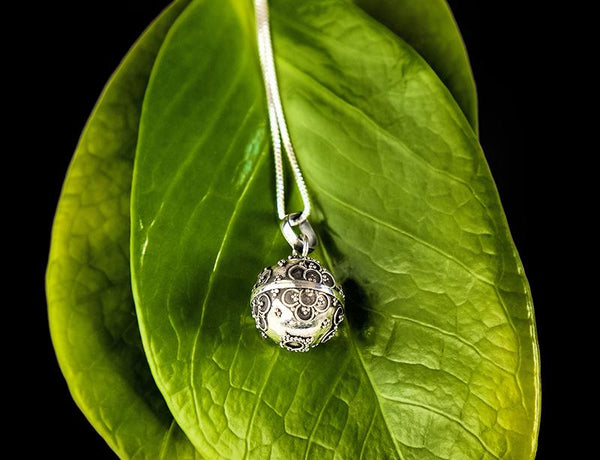 Sterling Silver Chime Pendant - do good shop ethical gifts